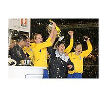 Leeds United - 'You Get Nowt for Second' Photographic Print