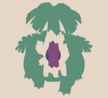 Bulbasaur, Ivysaur, and Venusaur by thelastfreenoob