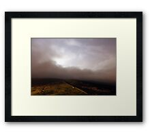 Towards Burnt Hill from Chunal 2 Framed Print