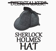 sherlock holmes hat by jammywho21