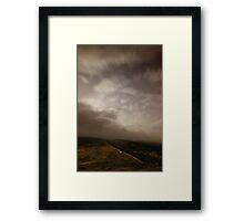 Towards Burnt Hill from Chunal 3 Framed Print