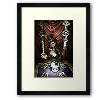 Steampunk High Priestess Framed Print