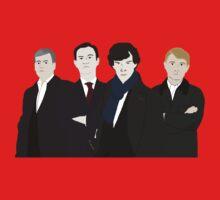 Sherlock, John, Greg, Mycroft Kids Clothes