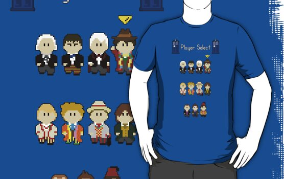 Choose Your Doctor Who 8bit v2 by Rippletron