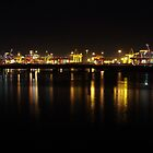 Port Under Lights by Linda Fury