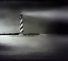 Cape Hatteras Lighthouse by Debbie  Adams