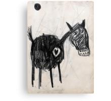 Horsey 2 Canvas Print