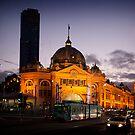 Flinders Street by Andrew Cowell
