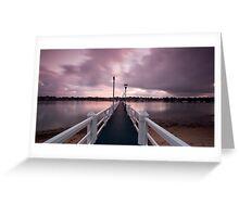 Don't Pay the Ferryman  - Canada Bay, NSW Greeting Card