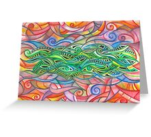 Untitled Abstract - 01-12 Greeting Card