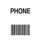 Phone Barcode by ubiquitoid