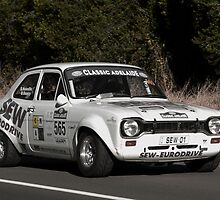 Ford Escort RS 1600 by Geoffrey Higges
