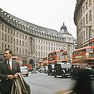 Regent Street Quadrant London 195708270004  by Fred Mitchell