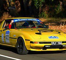 Mazda RX7 - 1981 by Geoffrey Higges