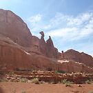 Rock Formations in Moab Summer 2011 by Joseph Barney
