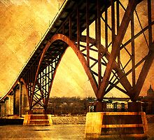 Golden High Bridge by KBritt