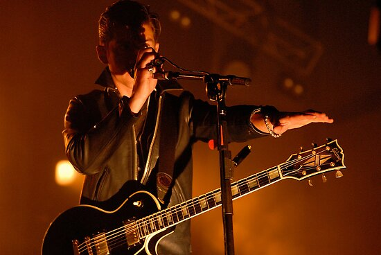 Arctic Monkeys-Falls Festival, Marion Bay by Michael Walters
