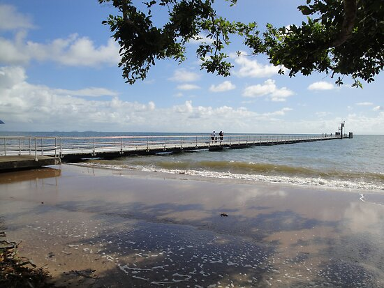 Clump Point Jetty at King Tide January 22 2012 by STHogan