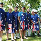 Tallangatta Picture - Rotary, Australia Day Celebrations by Jenny Enever