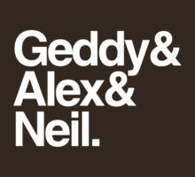 Geddy&Alex&Neil (Dark Shirts) by oawan