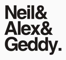 Neil&Alex&Geddy (Light Shirts) by oawan