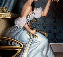 Steampunk Queen of Swords by Barbara Moore