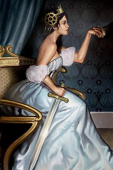Steampunk Queen of Swords by Barbara Moore
