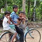 One Bike Four Boys by nicholasderoose