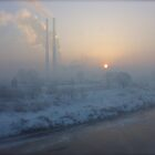 Good morning foggy sunshine. by AndGoszcz