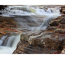 Silky Waters under Bridge Photographic Print