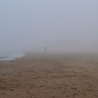 Man in Fog by apye
