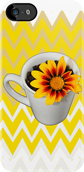 My morning cup of sunshine by Simone Pullar-Wells