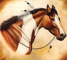 Indian Pony, II by WildestArt