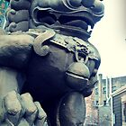Chinese Foo dog by Arielle Hall