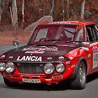 Lancia Fulvia 1.6 HF by Geoffrey Higges