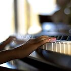 Hand On Piano Shot. by imDuzzy