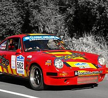 Porsche 911 Carrera RS - 1974 by Geoffrey Higges