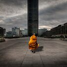 A Monk in Montparnasse by Laurent Hunziker