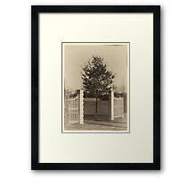 Poort Reijshoeve (Reeshofpark) Framed Print