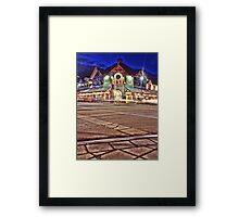 Wild Bill's Light Trails (HDR) Framed Print