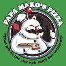 Papa Mako's Pizza by drawsgood