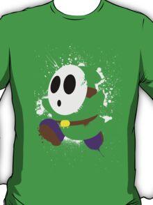 Splattery Shy Guy Style 2 T-Shirt