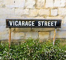 Vicarage Street - The Cotswolds by Mark  Johnstone