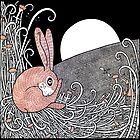 Full Moon Hare by Anita Inverarity