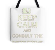 Consult the Detective Tote Bag