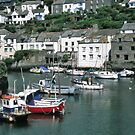 Polperro harbour art 1 by StephenRB