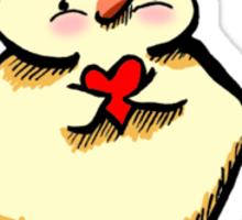 Chick Magnet {light} Sticker