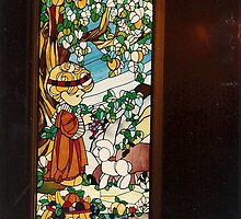 WINDOW AT PRECIOUS MOMENTS CHAPEL by Pauline Evans