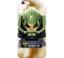 Zaku II iPhone Case/Skin