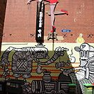 24 Moons. ACDC Lane. by John Sharp
